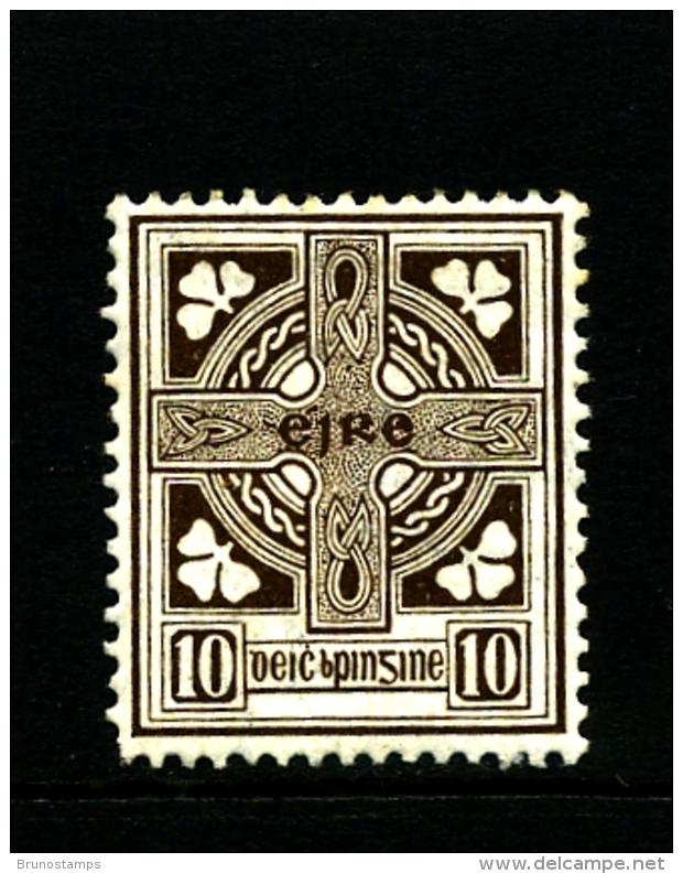 IRELAND/EIRE - 1923  10d.  CROSS  SE WMK  MINT SG 81 - Nuovi