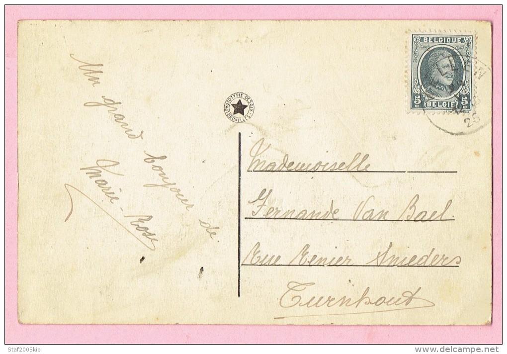 Wellen - Boulevard-straat - 1925 Verstuurd Naar Turnhout - Wellen