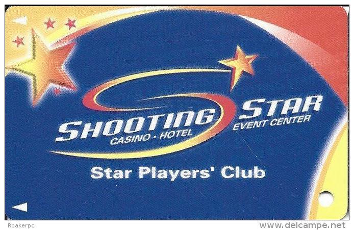 Shooting Star Casino - Mahnomen, MN - Slot Card - ACC Over Mag Stripe  (BLANK) - Casino Cards