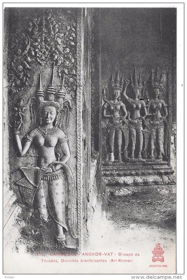 CAMBODGE - ANGKOR VAT - Groupe De Tévadas, Divinités Bienfaisantes (Art Khmer) - Cambodia