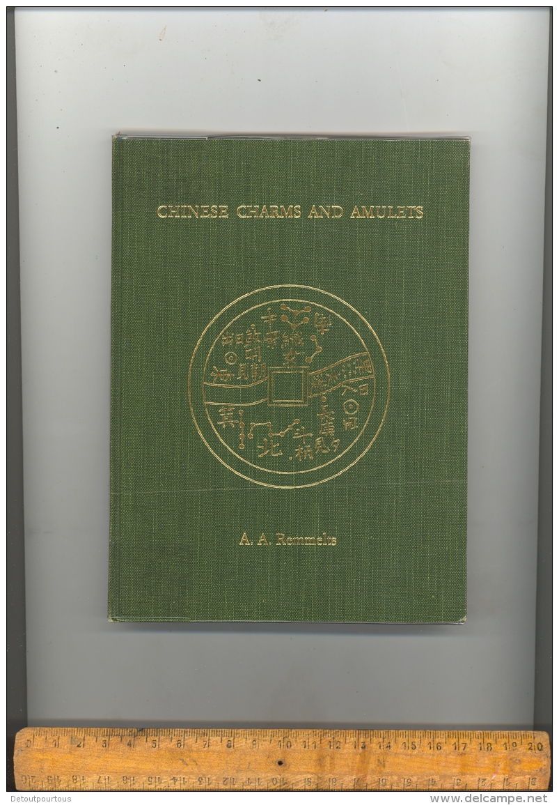 Chinese Charms And Amulets A Remmelts 1968  ( English Text ) / China Coins Book - Livres & Logiciels