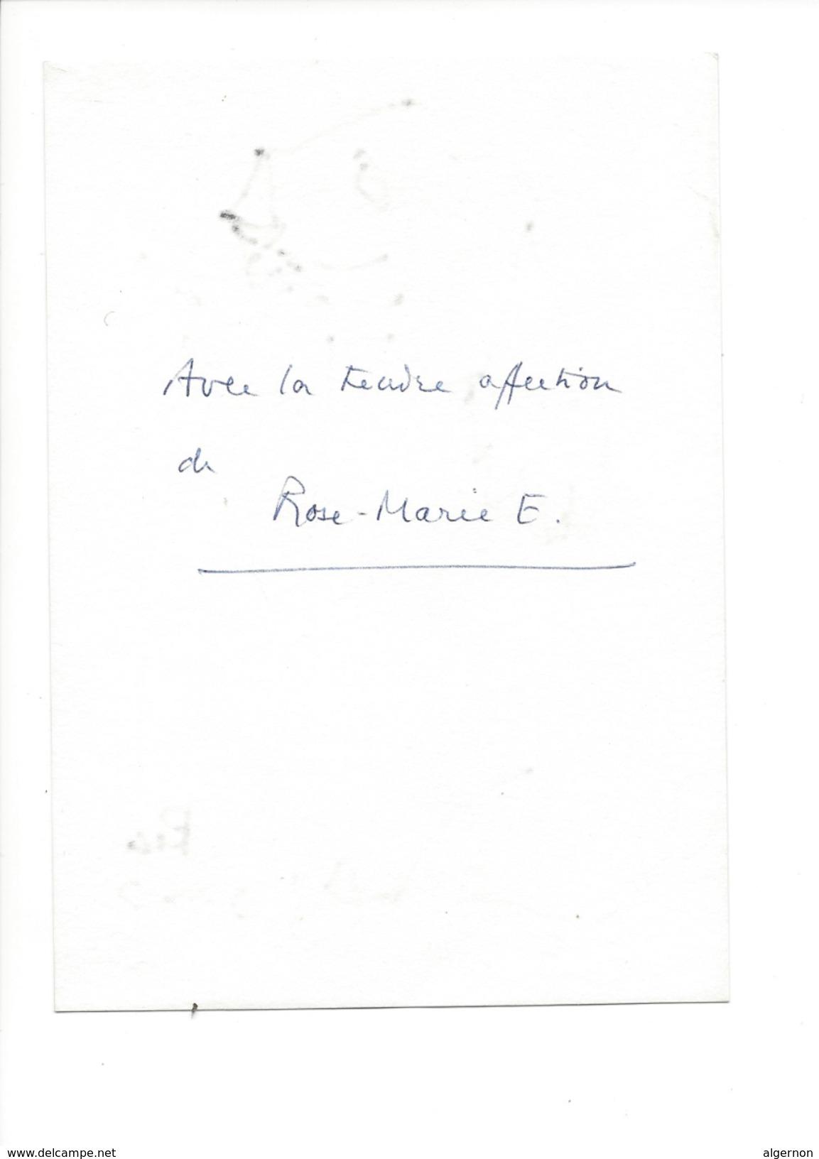 14998 - Dessin De Rose-Marie Eggmann Artiste Genevoise Signé   Chien - Dessins