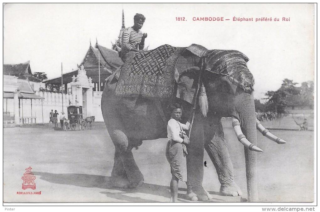 CAMBODGE - Eléphant Préféré Du Roi - Cambodia