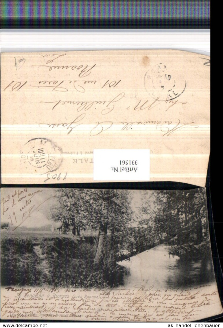 331561,Rhone-Alpes Loire Le Renaison A Riorges Fluss - France
