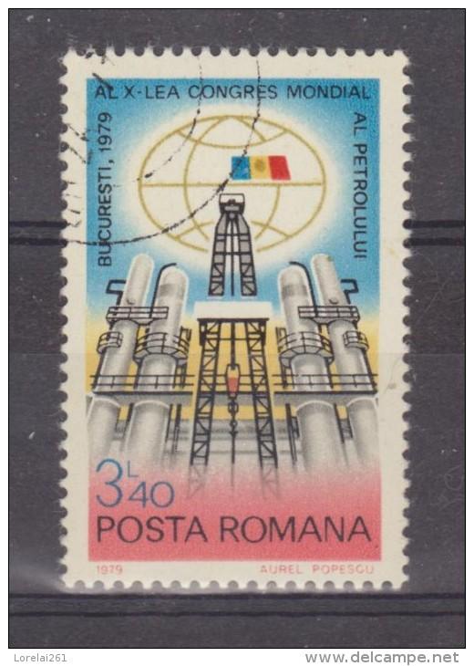 1979 CONG. INTERNATIONAL SUR LE PETROLE  Mi No 3589 Et Yv 3163 - 1948-.... Republiken