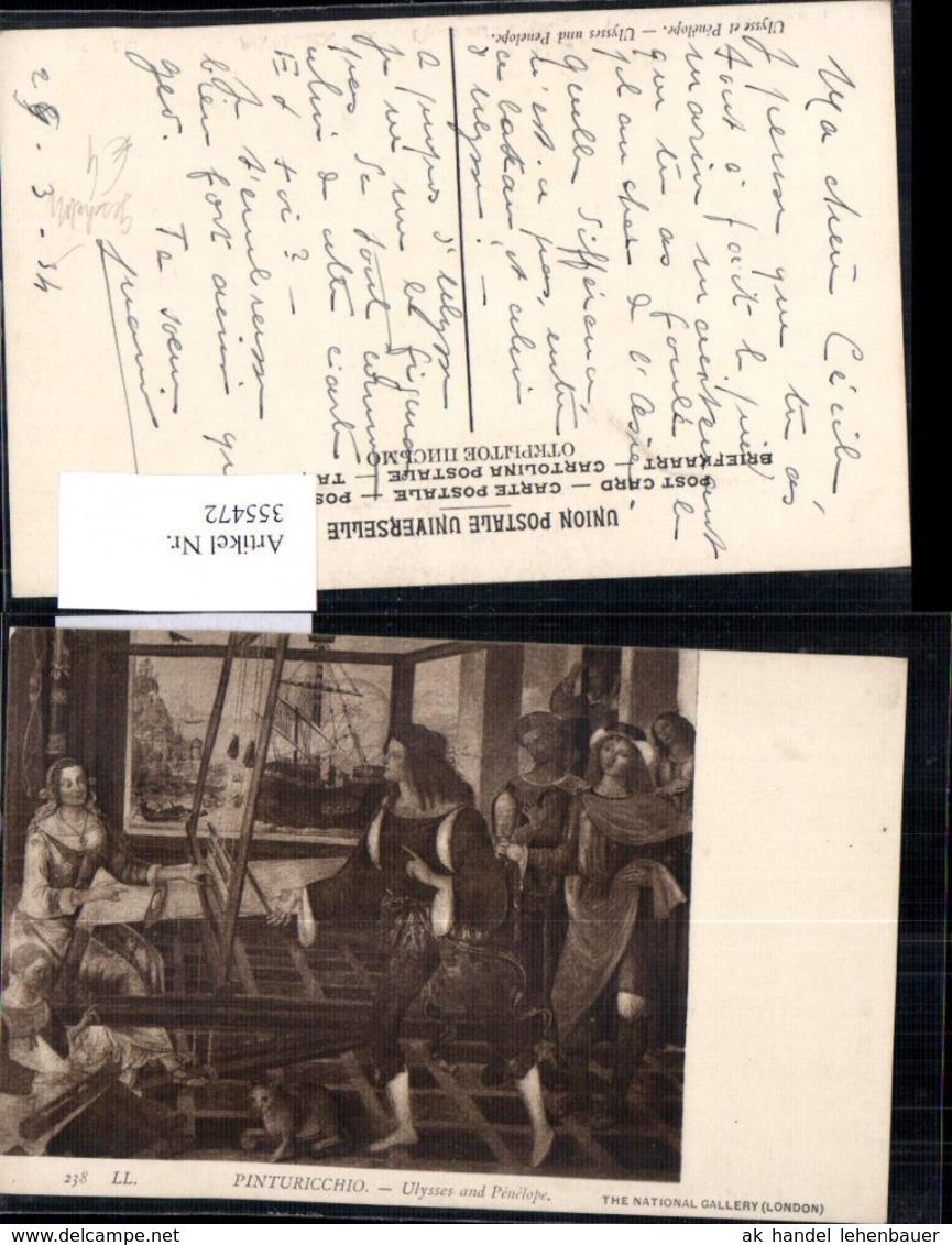 355472,Künstler Ak Pinturicchio Ulysses And Penelope Geschichte - Geschichte