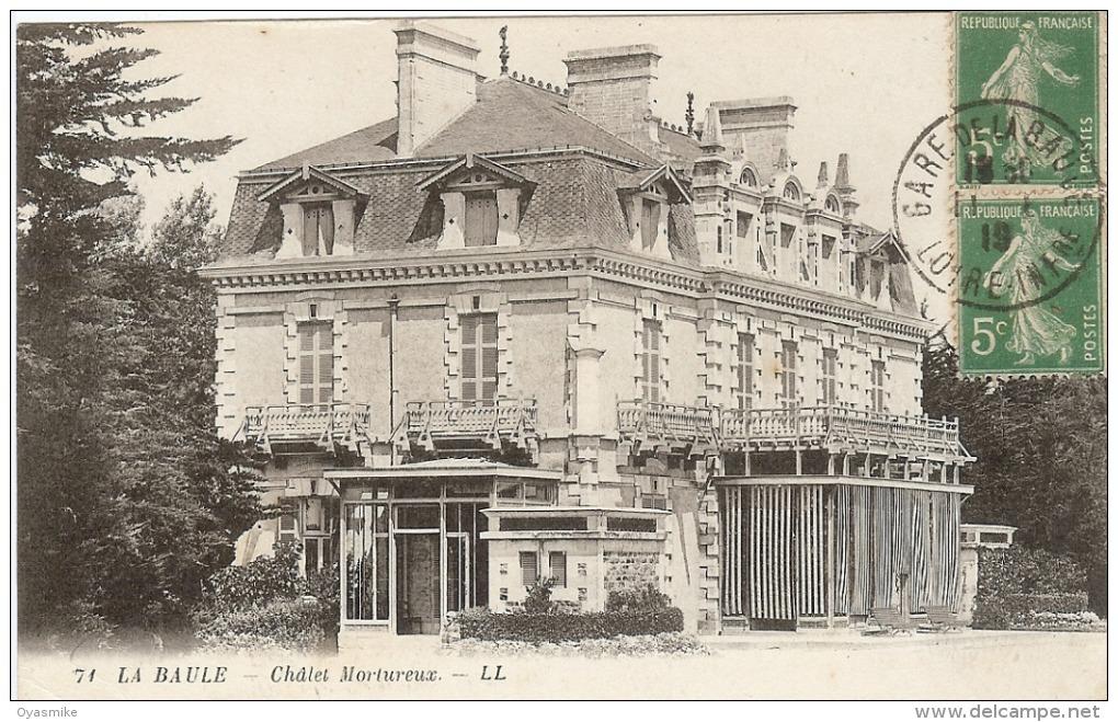 44 – La Baule – Chalet Mortureux - La Baule-Escoublac