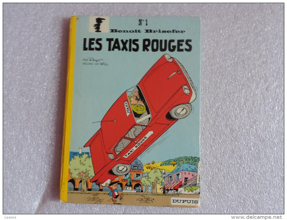 Benoît Brisefer : Les Taxis Rouges - Benoît Brisefer