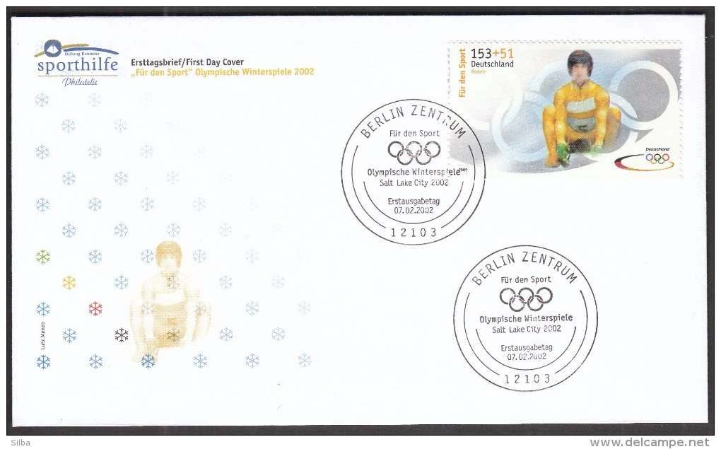 Germany Berlin 2002 / For Sport / Olympic Games Salt Lake City / Luge - Winter 2002: Salt Lake City