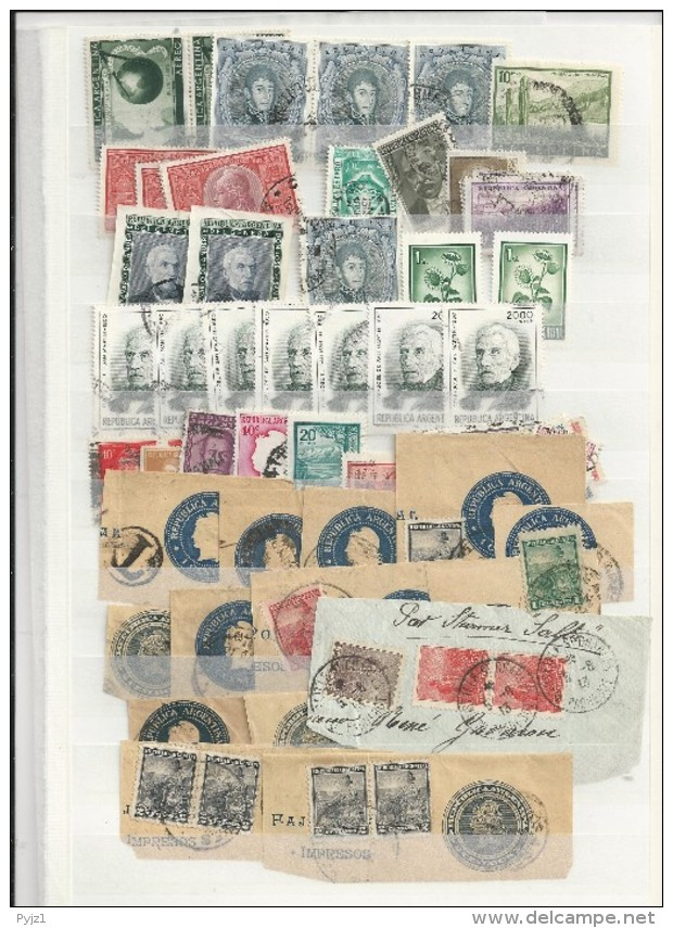 Argentinia USED  (7 Scans) - Timbres