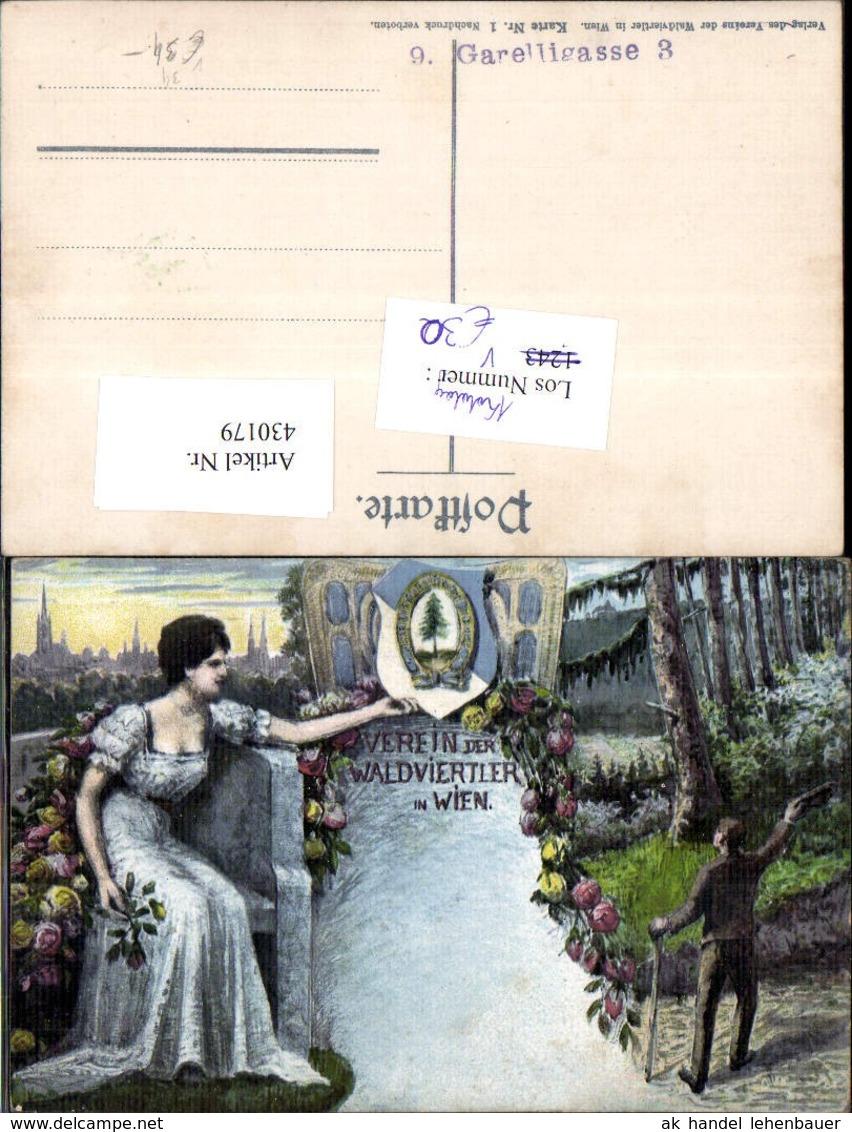 430179,Künstler Ak Pub Verein D. Waldviertler I. Wien Politik Zwettl Geschichte Öster - Geschichte