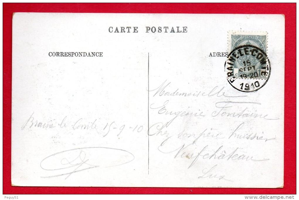Braine-le-Comte. Plaine De Scaubecq. Semaine De L'aviation Du 10 Au 19 Septembre 1910. 1910 - Braine-le-Comte