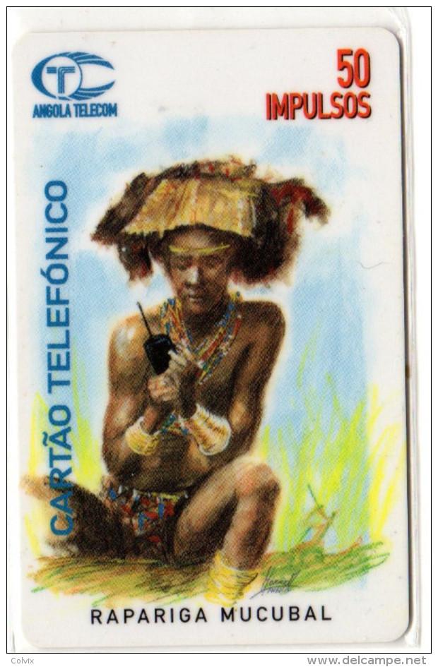 ANGOLA REF MV CARDS ANG-02 50U - Angola