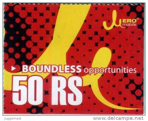 GSM MOBILE PHONE PREPAID USED MINI RECHARGE CARD RS.50 MERO MOBILE NEPAL - Nepal