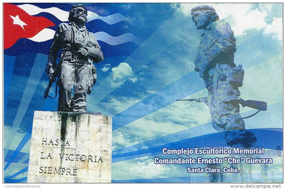 Lote PEP919, Colombia, Postal, Postcard, Che Guevara, Exhibition Of Cuban Philately, Only 500 Issued - Colombia