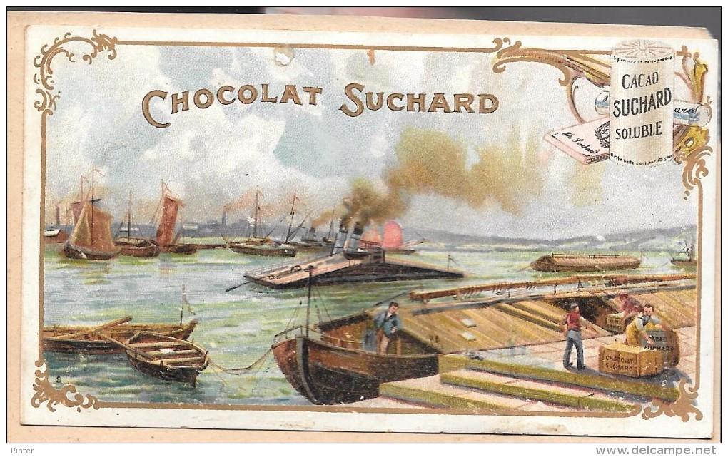 LOT DE 2 CHROMOS -  CHROMO CHOCOLAT SUCHARD   + CHROMO G. MARQUANT RIEUL - Le Havre - Suchard