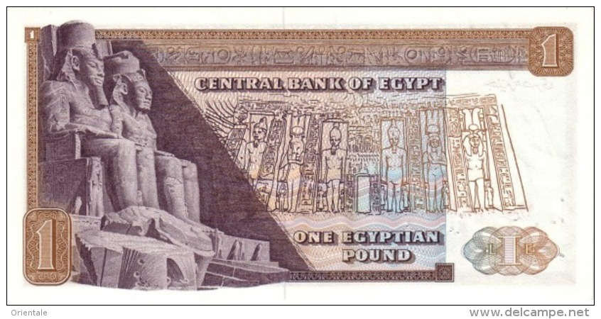EGYPT  P. 44a 1 P 1973 UNC - Egypte
