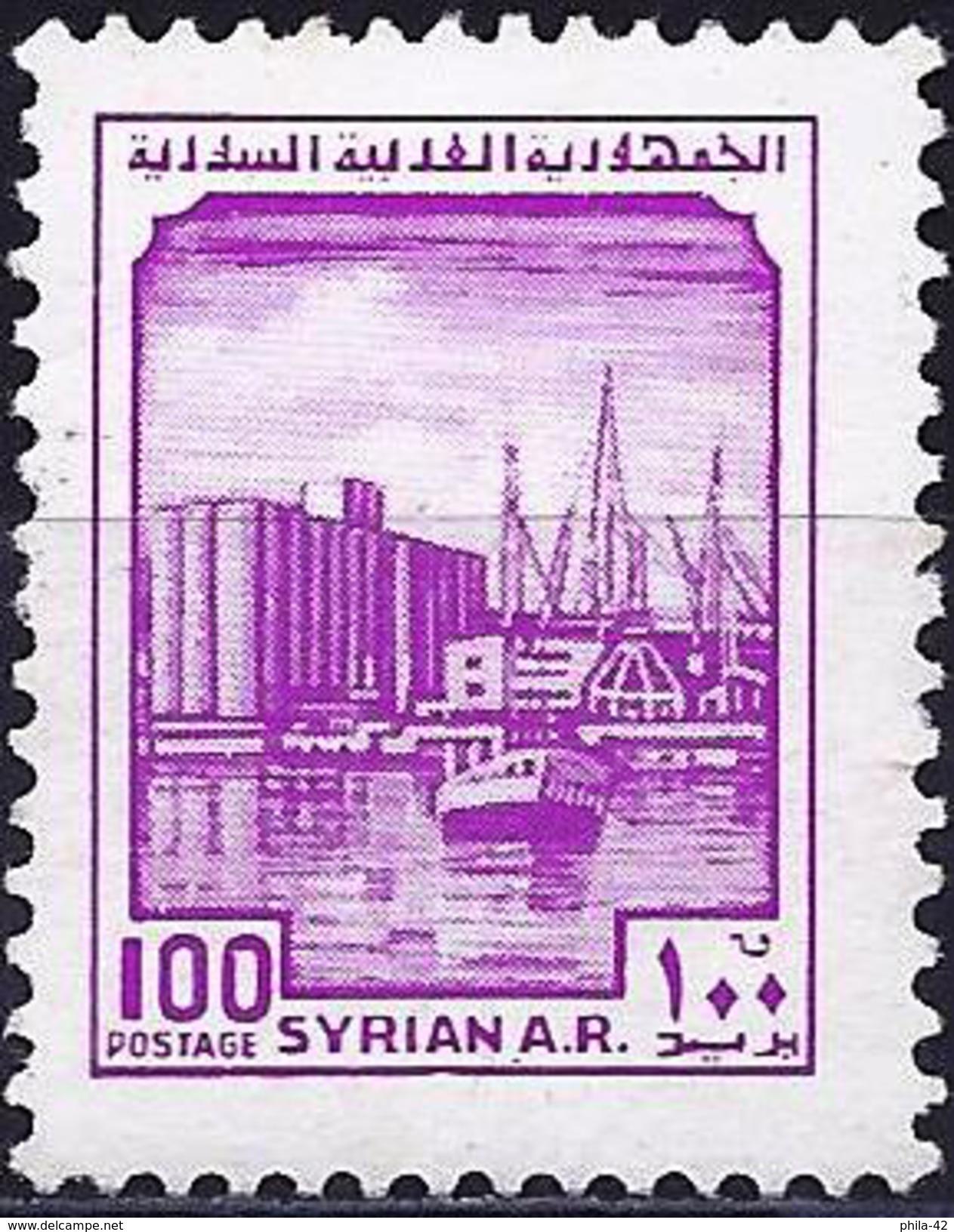Syria 1982 - Syria Ports ( Mi 1543 - YT 654 ) MNH** - Syrie