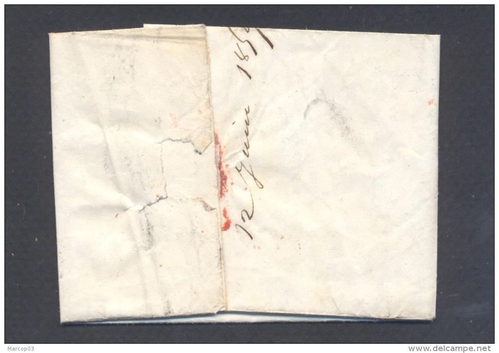 VAUCLUSE 86 APT LAC TAD 15 Du 12/06/1859  PC 99 Sur N° 13 (def) Boite Rurale D = Aviens TTB - Marcophilie (Lettres)