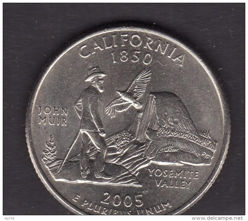2005 California Quarter Dollar - Federal Issues