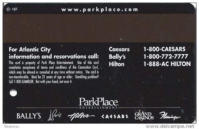 Caesars Casino Atlantic City, NJ Slot Card - Connection Card - Cpi Over Mag Stripe - Casino Cards