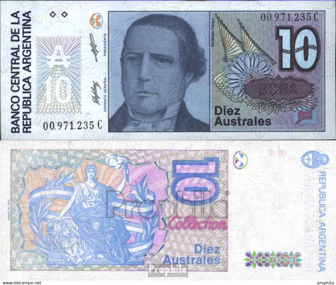 Argentinien Pick-Nr: 325b Bankfrisch 1986 10 Australes - Argentine