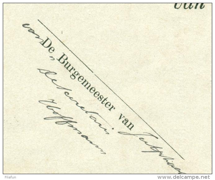 Nederland - 1882 - EO-omslag Van Jutphaas Via Utrecht Naar De Burgemeester Van Werkhoven Te Bunnik - Nederland