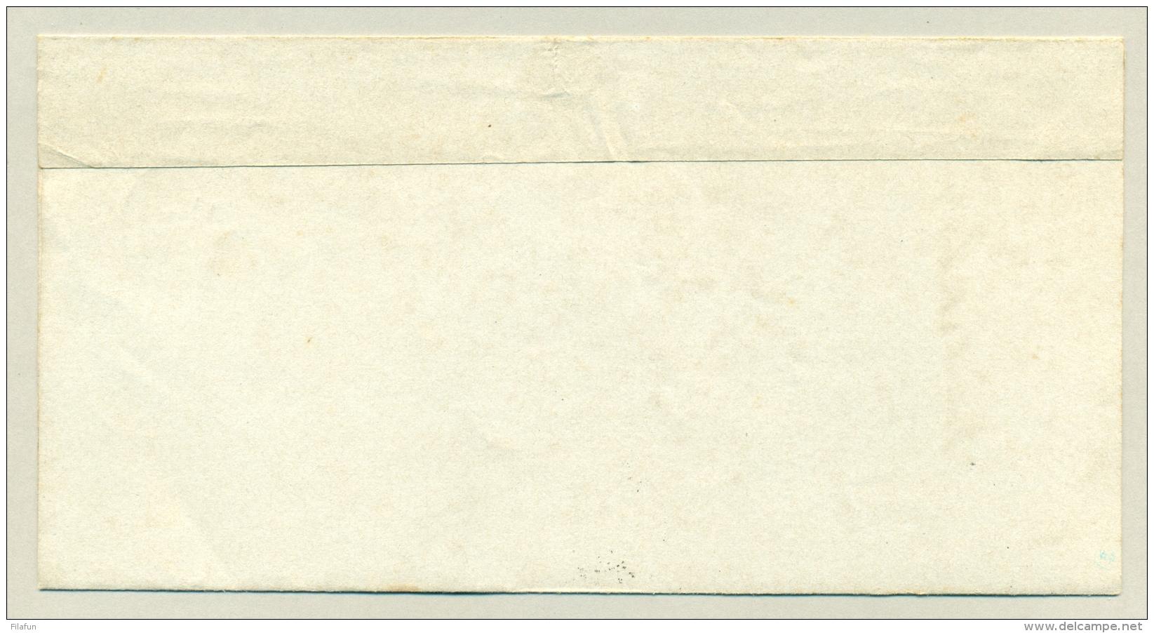 Nederland - 1882 - EO-omslag Van Jutphaas Via Utrecht Naar De Burgemeester Van Werkhoven Te Bunnik - ...-1852 Voorlopers