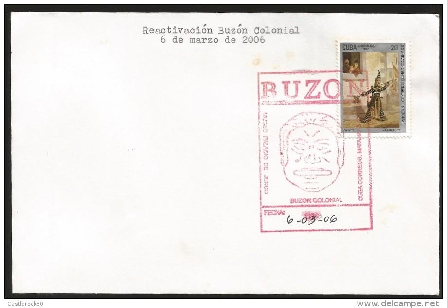 B)2006 CUBA CARIBBEAN, CULTURE, FOLKLORE,  NATIONAL FOLKLORE ENSEMBLE, 20TH ANNIV. PHILATELIC MUSEUM JUNCO CANC FANCY, R - Peru