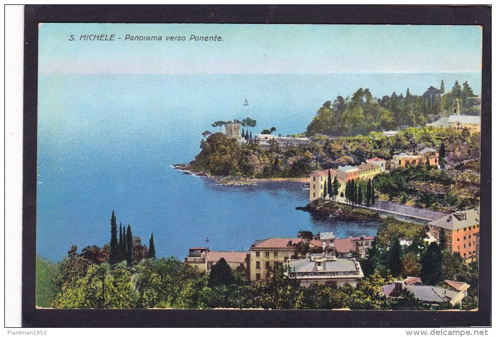 Old Post Card Of St,Michele ,J33. - Italy