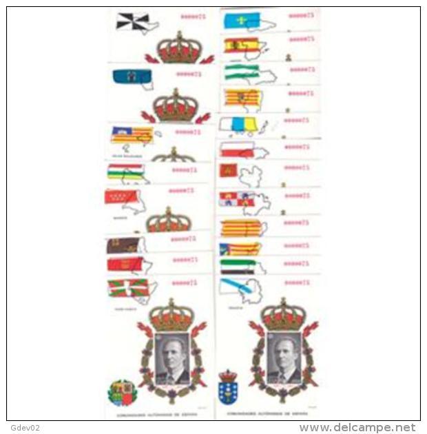 ESPO37NR-LFTPRO37THC.España.Spain.Espagne SIN DENTAR PRUEBA OFICIA.AURONOMIAS 1995(Ed PO 37/56NR). LUJO - Hojas Conmemorativas