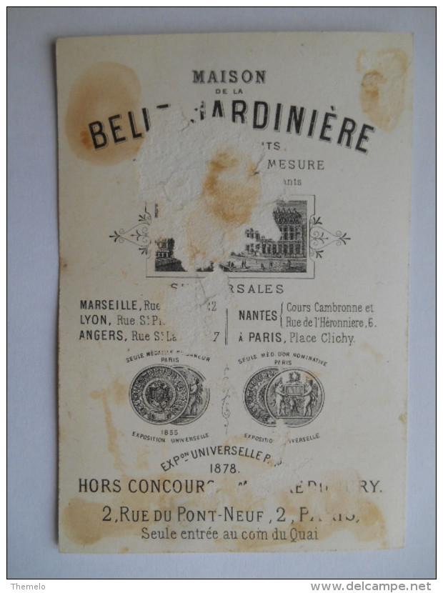 """Chromo """"La Belle Jardinière - Mr Le Vicomte Ne Se Baigne Pas..."""" - Autres"""