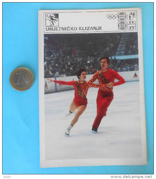 IRINA RODNINA - Figure Skating ( Yugoslav Vintage Svijet Sporta) Patinage Artistique Eiskunstlauf Patinaje Pattinaggio - Skating (Figure)
