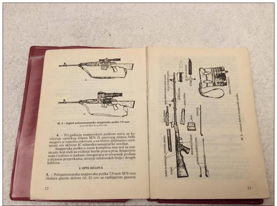 Livre Manuel Militaire  , YOUGOSLAVE - Otros
