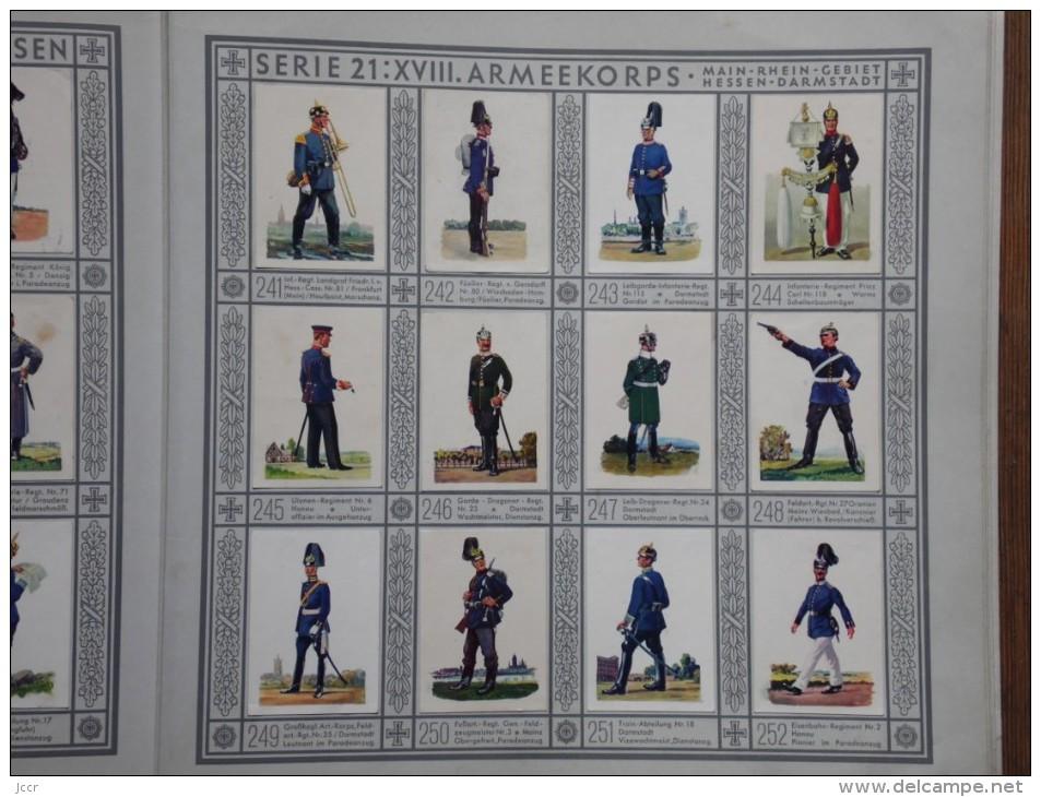 Uniformen Der Alten Armee - Waldorf Astoria - Zigarettenfabrik G.m.b.h. Mûnchen - 1930 - Livres, BD, Revues