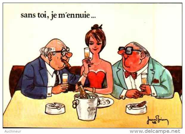 Illustrateur Jean Brian - Sans Toi, Je M'ennuie - Autres Illustrateurs