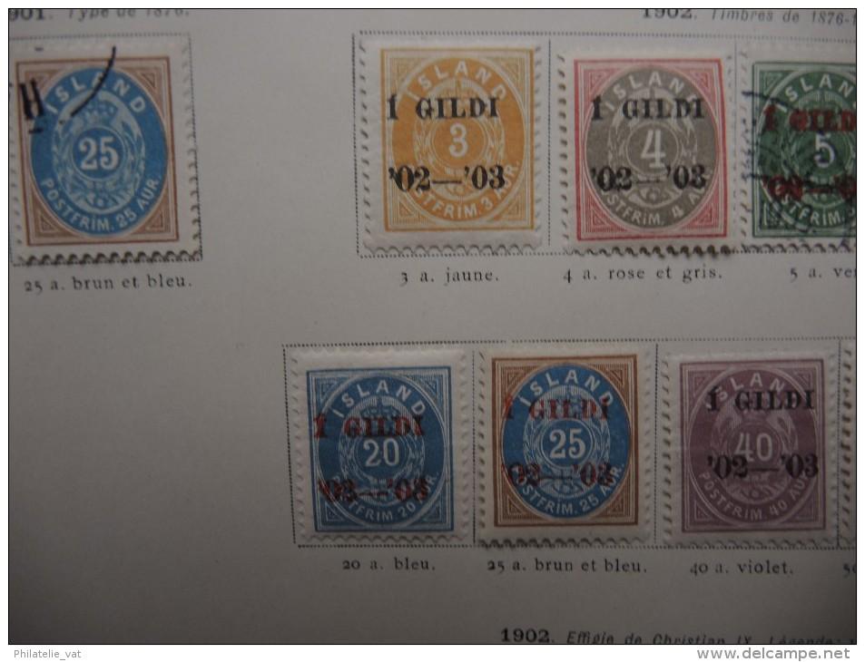 ISLANDE - Collection Avec De Nombreux Neufs Première Charnière - Bonnes Valeurs - A Voir - P20330 - Islande
