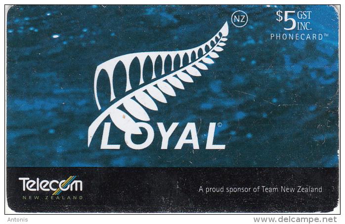 NEW ZEALAND(chip) - Loyal(098), 12/02, Used - Neuseeland