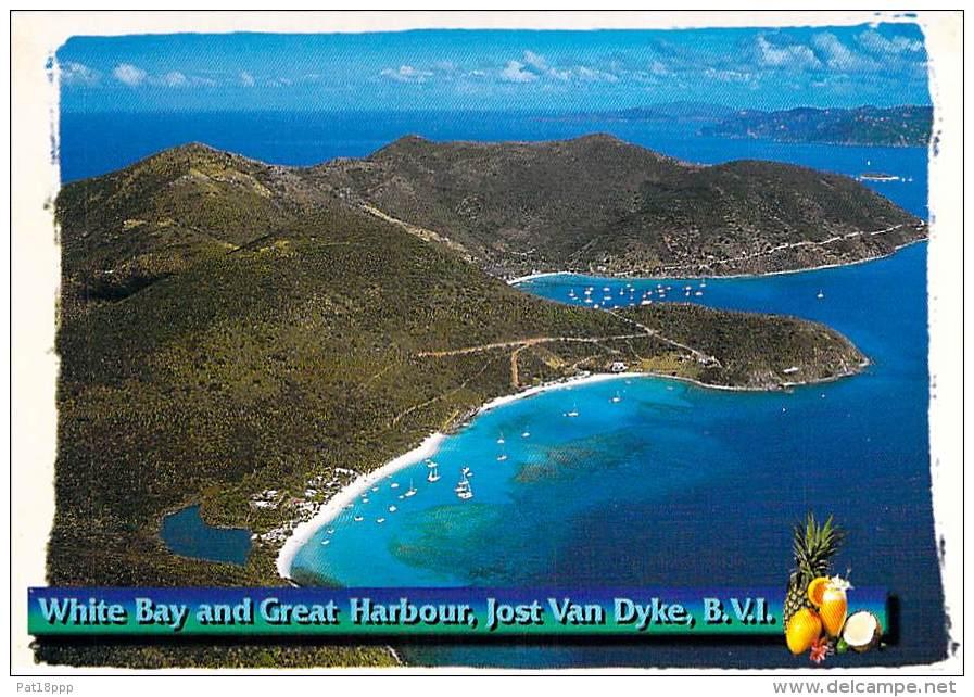 CARAÏBES ANTILLES Caribbean West Indies - BRITISH VIRGIN ISLANDS B.V.I. : JOST VAN DYKE White Bay And Harbour - CPM GF - Vierges (Iles), Britann.