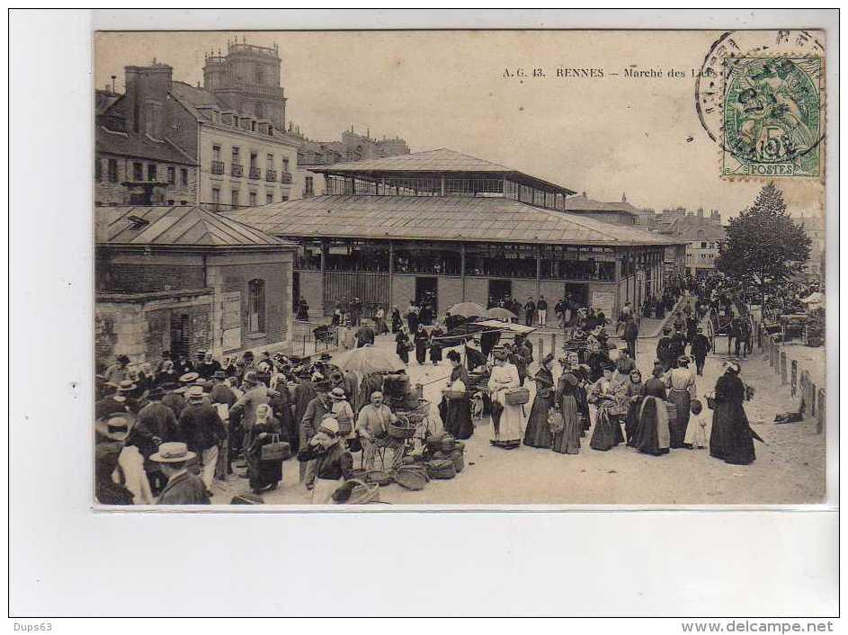 RENNES - Marché Des Lices - Très Bon état - Rennes