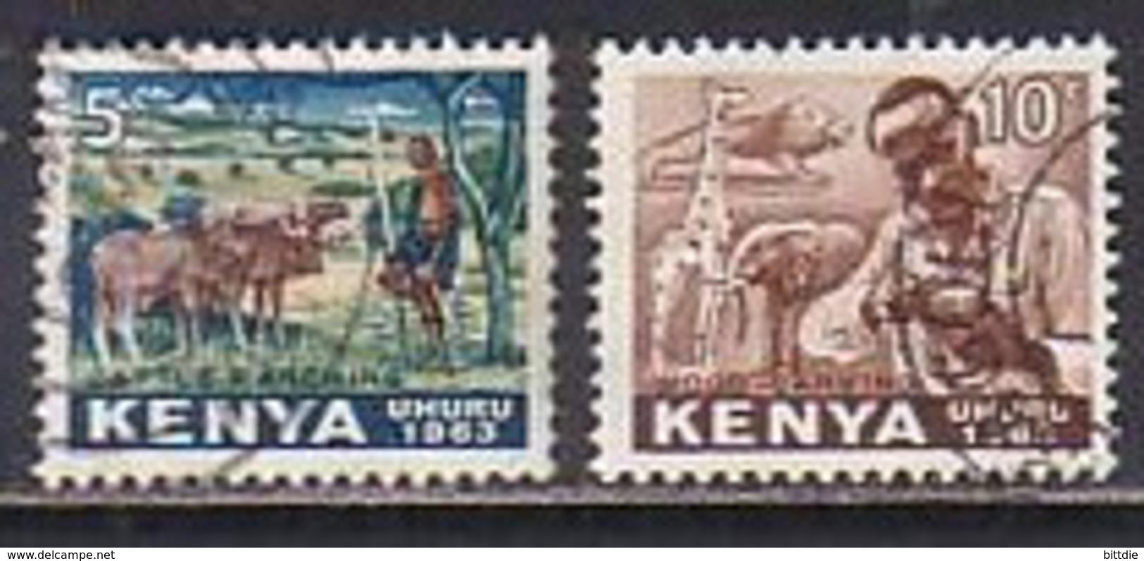 Kenia  1+2 , O  (P 1173) - Kenia (1963-...)