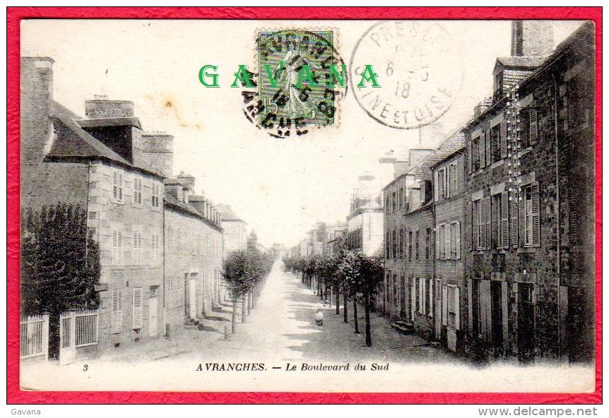 50 AVRANCHES - Le Boulevard Du Sud - Avranches