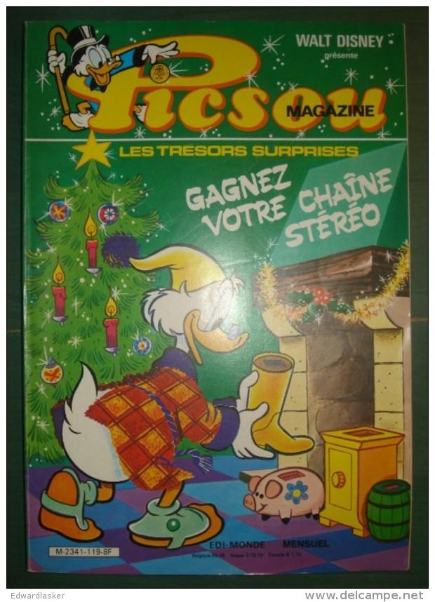 PICSOU MAGAZINE N°119 - 1982 - Très Bon état - Picsou Magazine