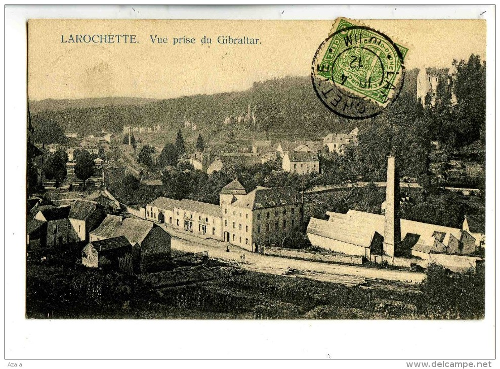 17540   -   Larochette  Vue Prise Du Gibraltar - Larochette