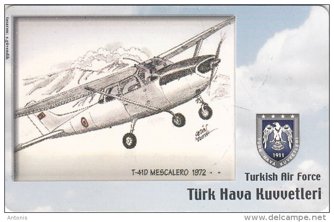 TURKEY(chip) - Airplane, T-41D Mescalero 1972(50 Units), Used - Avions