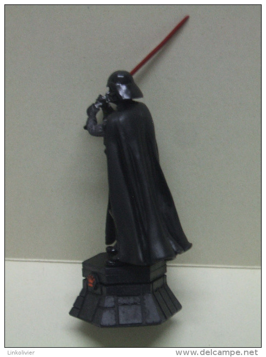DARK VADOR (Darth Vader) Figurine En Plomb STAR WARS Pièce De Jeu D´échecs ALTAYA : Dame (reine) Noire - First Release (1977-1985)