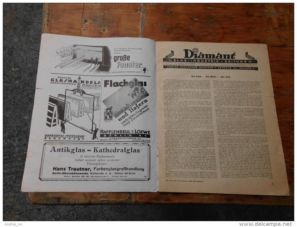 Diamant Glas Industrie Zeitung Leipzig 1943 - Ohne Zuordnung