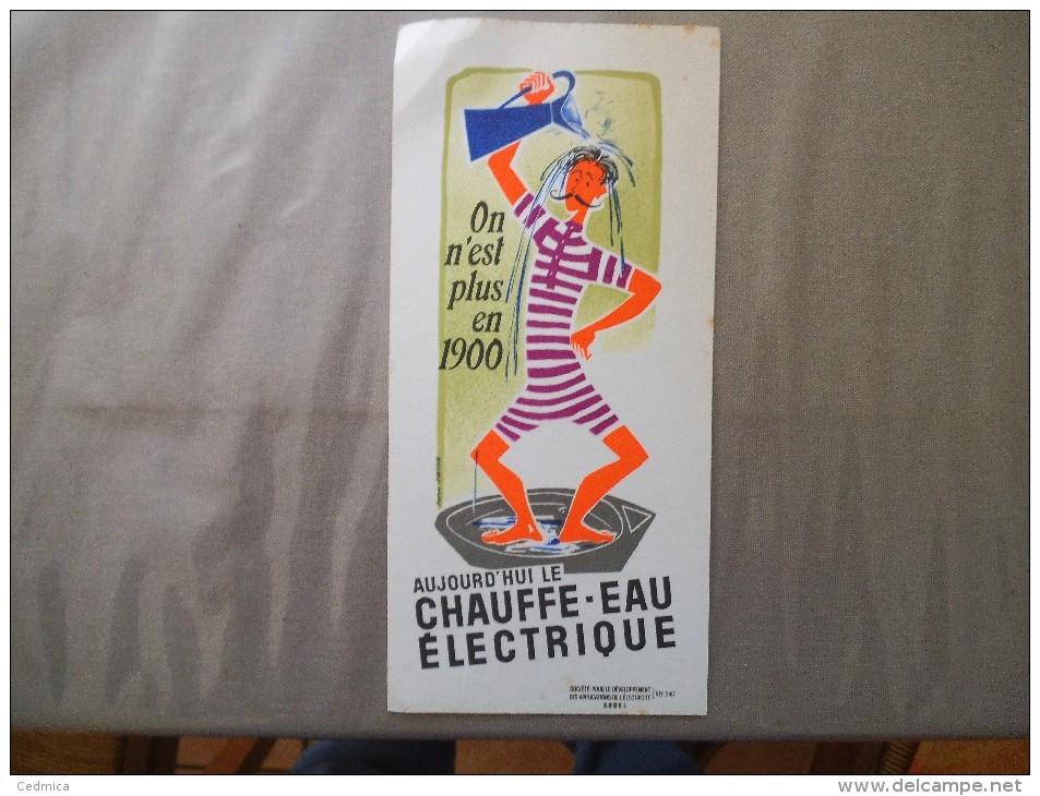 SODEL ON N'EST PLUS EN 1900 AUJOURD'HUI LE CHAUFFE-EAU ELECTRIQUE - S