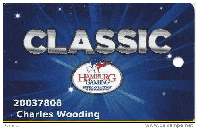Hamburg Gaming / Casino - Buffalo Raceway - Hamburg, NY - Slot Card - Casino Cards
