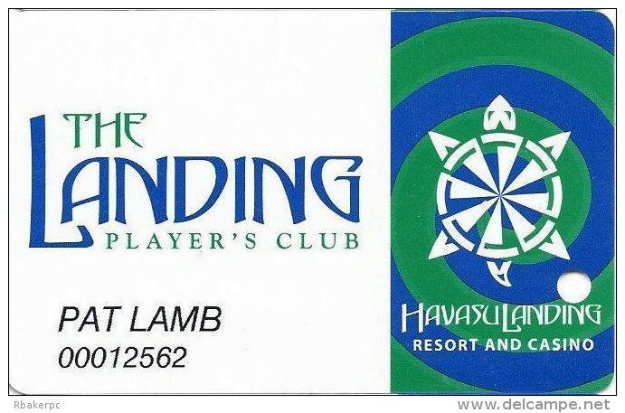 Havasu Landing Casino - Havasu Lake, CA - 3rd Issue Slot Card - All Green Swirles - Casino Cards
